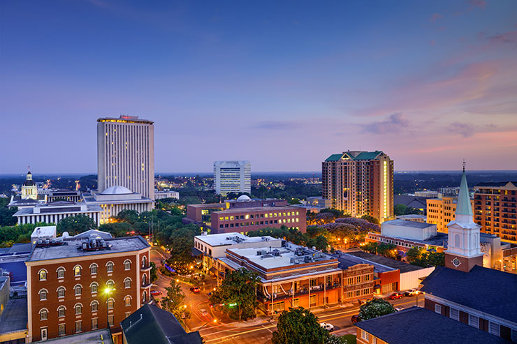 Skyline of Tallahassee