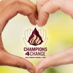 Champions for Change Logo, FSU Credit Union and You