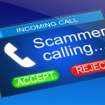 Scammer Calling Cell Phone