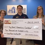 Big Bend Homeless Coalition Check Presentation