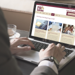 FSU Credit Union Homepage on Computer