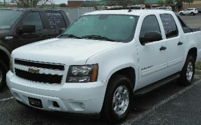 Chevy Avalanche 2010