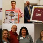 FSU Credit Union annual meeting photo collage