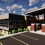 Rendering of New North Monroe Branch
