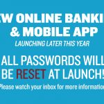 Online banking and mobile app
